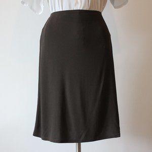 Ann Taylor Brown Skirt XS